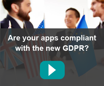 Are your apps compliant with the new GDPR?