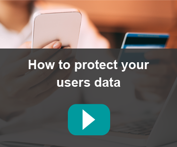 How to protect users' data